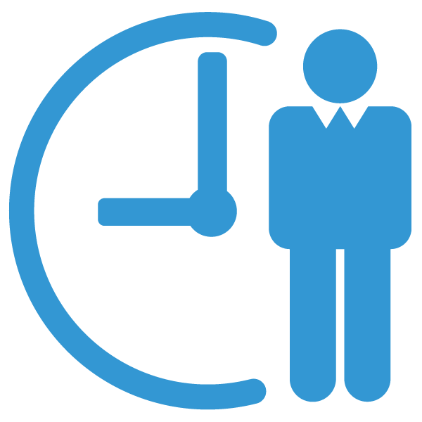 Summer Systems Process Roadmap Icon Light Blue
